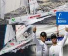 Mapfre drugi w Barcelona World Race 2010-11