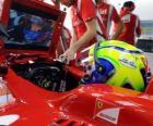 Felipe Massa, w rozwoju jego Ferrari