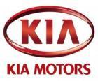 Logo KIA Motors, producenta samochodów Południowej Korei