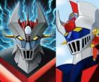 Mazinger Z, obrazy głowy Super Robot