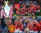 Manchester United, mistrz ligi angielskiej piłki nożnej. Premier League 2010-2011