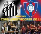 Santos FC - Cerro Porteño. Copa Libertadores 2011 Półfinał