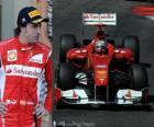 Fernando Alonso - Ferrari - Monte Carlo, Monaco Grand Prix (2011) (2 miejsce)