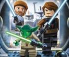Lego Star Wars: Yoda, Luke Skywalker, Obi-Wan Kenobi