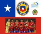 Wybór Chile, Grupa C, Argentyna 2011