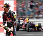 Mark Webber - Red Bull - Silverstone Grand Prix Wielkiej Brytanii (2011) (3 miejsce)