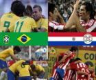 Brazylia - Paragwaj, ćwierćfinały, Argentyna 2011