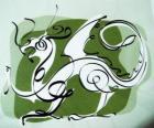 Smok, znak Smoka, Rok Smoka. Piąty Chiński zodiak zwierzę