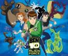 Ben, Gwen i Kevina, ludzkich bohaterów Ben 10 i jego 10 oryginalnych osobowości obce