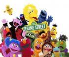 Główne postacie z Ulicy Sezamkowa
