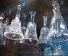 Dzwonki świąteczne szkło