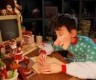 Artur Świąt Bożego Narodzenia, odpowiedzialne za odpowiedzi na listy świecie dzieci