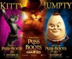 Poster z filmu Kot w butach