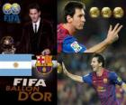 FIFA Ballon d'Or 2011 zdobywca Lionel Messi