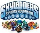 Logo z gry wideo od Spyro smoka, Skylanders: przygody Spyro
