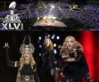 Madonna w Super Bowl 2012