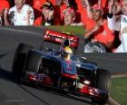 Lewis Hamilton - McLaren - Melbourne, Grand Prize of Australia (2012) (3 stanowiska)
