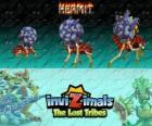 Hermit, najnowszej ewolucji. Invizimals Zaginione Plemiona. Te płochliwy Invizimals na żywo w wodzie najgłębsze jaskinie