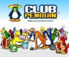 Śmieszne pingwiny z Club Penguin