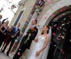 Narzeczeni pozostawiając ślub