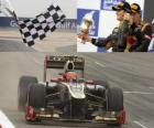 Romain Grosjean - Lotus - Grand Prix z Bahrajnu (2012) (3 stanowiska)