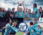 FC Zenit Sankt Petersburg, mistrz rosyjski Piłka nożna Priemjer-Liga 2011-2012