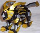 Lew Zord, Yellow Power Ranger. Power Rangers Ninja