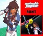 Rocket jest kapitanem drużyny piłkarskiej Galactic Snow-Kids z numerem 5