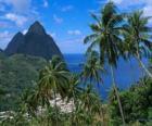 Pitons, Wyspy Santa Lucia