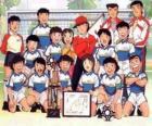 Zespół Captain Tsubasa z trophy