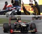 Romain Grosjean - Lotus - Grand Prize of Canada (2012) (2 stanowiska)