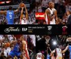 NBA Finals 2012, 4 th gry, Oklahoma City Thunder 98 - Miami Heat 104
