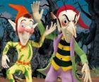 Sly i Gobbo, złośliwe gobliny w przygodach Noddy jest