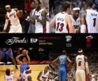 NBA Finals 2012, 5 th gry, Oklahoma City Thunder 106 - Miami Heat 121