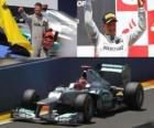 Michael Schumacher - Mercedes - GP Europy 2012 (notowanymi 3)