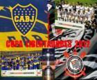 Boca Juniors vs Corinthians. Copa Libertadores Finał 2012