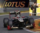 Kimi Räikkönen - Lotus - Grand Prix Belgii 2012, 3 ° sklasyfikowane