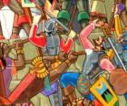 Wojowników walki Inków