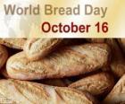 16 Października Światowy Dzień chleba