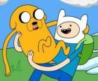 Finn i Jake, Głównymi głosicielami Pora na przygodę! Adventure Time