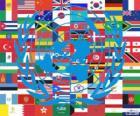 W dniu 24 października jest Dzień ONZ, upamiętniający jego powstania w 1945 roku