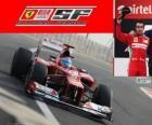 Fernando Alonso - Ferrari - Grand Prix Indii 2012, 2. sklasyfikowane