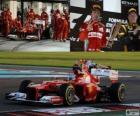 Fernando Alonso - Ferrari - 2012 Grand Prix Abu Zabi, 2ga sklasyfikowane