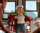 Przewodnik peruwiański Freddy wydaje się długodystansowy sklep z wielofunkcyjny płaszcz