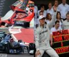 Michael Schumacher wycofał się z F1 w GP Brazylii 2012