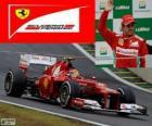 Felipe Massa - Ferrari - Grand Prix Brazylii 2012, 3. sklasyfikowane