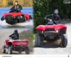 Gibbs Quadski jest prototyp quad/ATV amfibie