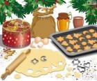 Przygotowania świąteczne ciastka