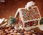 Słodkie i piękne świąteczne ozdoby, piernika