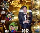 FIFA Ballon d'Or 2012 zdobywca Lionel Messi